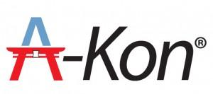 The final logo for A-Kon.